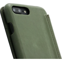 Book Case - Olive Green, Apple iPhone 7/8 Plus