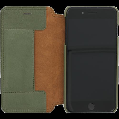 Minim Book Case - Olive Green, Apple iPhone 7/8 Plus