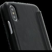 Book Case - Black, Apple iPhone Xs Max