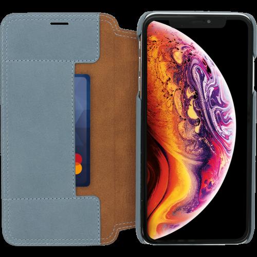 Minim Book Case - Light Blue, Apple iPhone Xs Max
