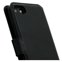 2 in 1 Wallet Case - Black, Apple iPhone 7/8/SE (2020)