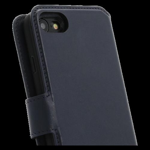 Minim 2 in 1 Wallet Case - Dark Blue, Apple iPhone 7/8/SE (2020)