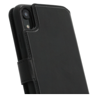 2 in 1 Wallet Case - Black, Apple iPhone XR