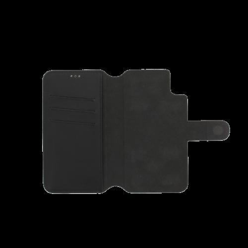 Minim 2 in 1 Wallet Case - Black, Apple iPhone XR