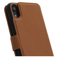 2 in 1 Wallet Case - Light Brown, Apple iPhone XR