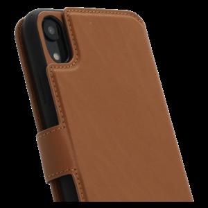 Minim 2 in 1 Wallet Case - Light Brown, Apple iPhone XR