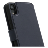 2 in 1 Wallet Case - Dark Blue, Apple iPhone XR