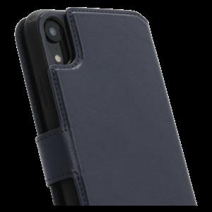 Minim 2 in 1 Wallet Case - Dark Blue, Apple iPhone XR
