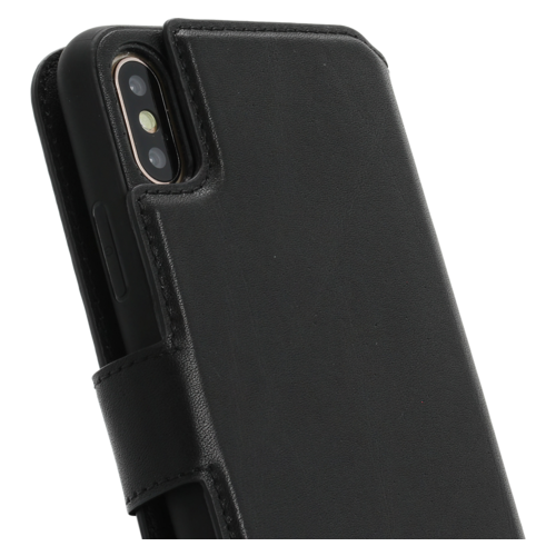 Minim 2 in 1 Wallet Case - Black, Apple iPhone X/XS