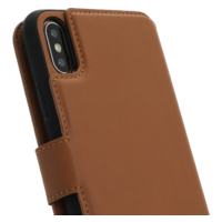 2 in 1 Wallet Case - Light Brown, Apple iPhone X/XS
