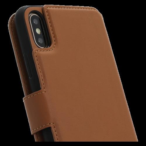 Minim 2 in 1 Wallet Case - Light Brown, Apple iPhone X/XS