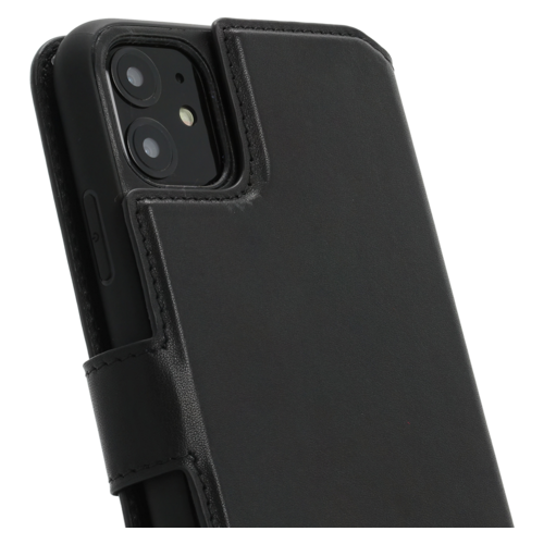 Minim 2 in 1 Wallet Case - Black, Apple iPhone 11