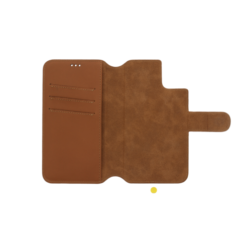 Minim 2 in 1 Wallet Case - Light Brown, Apple iPhone 11