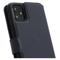 2 in 1 Wallet Case - Dark Blue, Apple iPhone 11