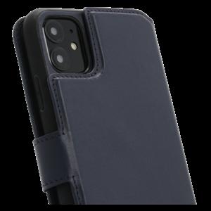 Minim 2 in 1 Wallet Case - Dark Blue, Apple iPhone 11