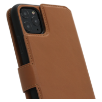 2 in 1 Wallet Case - Light Brown, Apple iPhone 11 Pro Max