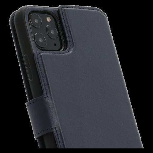 Minim 2 in 1 Wallet Case - Dark Blue, Apple iPhone 11 Pro Max