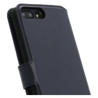 2 in 1 Wallet Case - Dark Blue, Apple iPhone 7/8 Plus