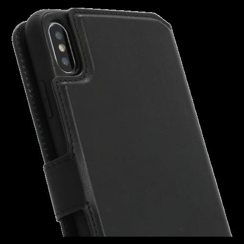 Minim 2 in 1 Wallet Case - Black, Apple iPhone XS Max