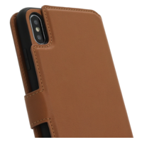 2 in 1 Wallet Case - Light Brown, Apple iPhone Xs Max