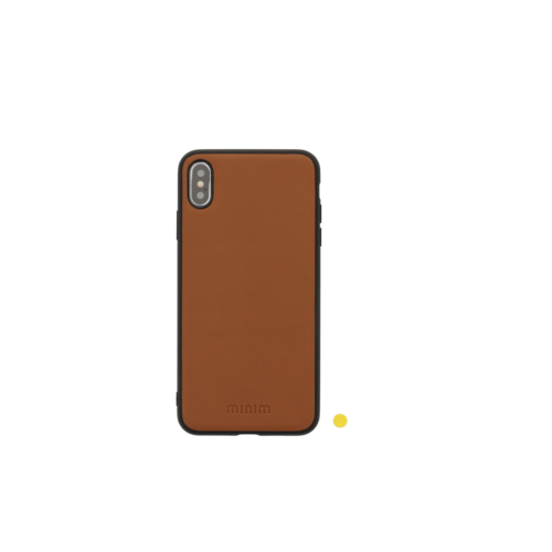 Minim 2 in 1 Wallet Case - Light Brown, Apple iPhone Xs Max
