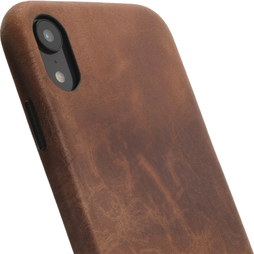 Minim Backcover - Brown, Apple iPhone XR