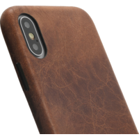Backcover - Brown, Apple iPhone X/XS