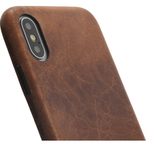 Minim Backcover - Brown, Apple iPhone X/XS