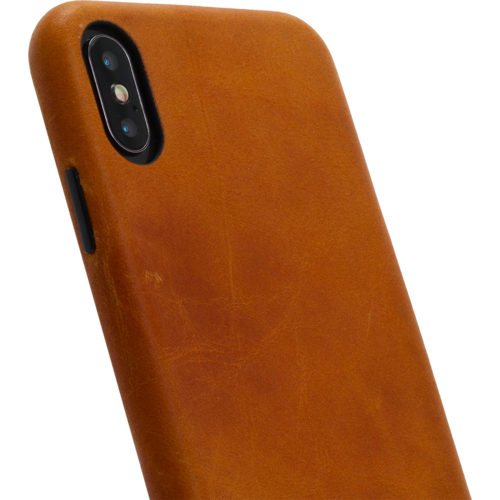 Minim Backcover - Cognac, Apple iPhone Xs Max