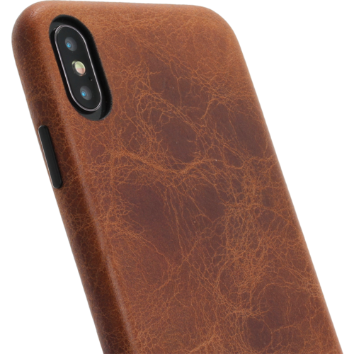 Minim Backcover - Brown, Apple iPhone Xs Max