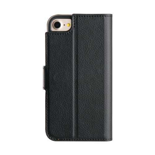 Promiz Wallet Case - Black, Apple iPhone 6/6S/7/8/SE (2020)