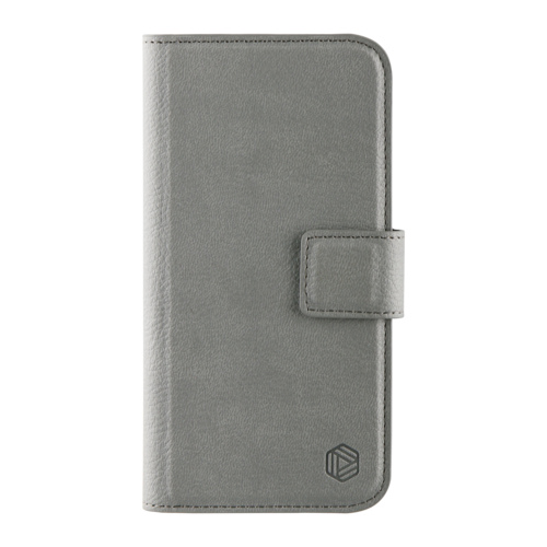 Promiz Wallet Case - Grey, Apple iPhone 6/6S/7/8/SE (2020)