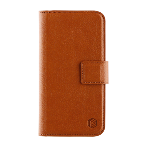 Promiz Wallet Case - Brown, Apple iPhone 6/6S/7/8/SE (2020)