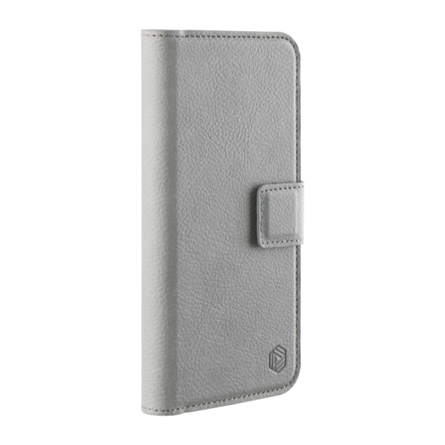 Promiz Wallet Case - Grey, Apple iPhone X/XS