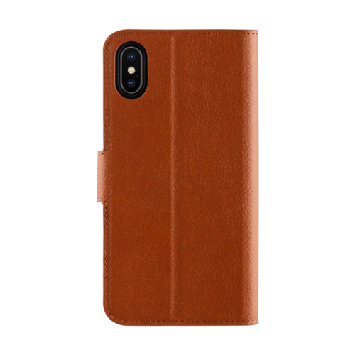 Promiz Wallet Case - Brown, Apple iPhone X/XS