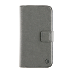 Promiz Wallet Case - Grey, Apple iPhone XR