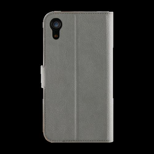Promiz Wallet Case - Grey, Apple iPhone XR