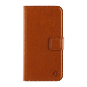 Promiz Wallet Case - Brown, Apple iPhone XR