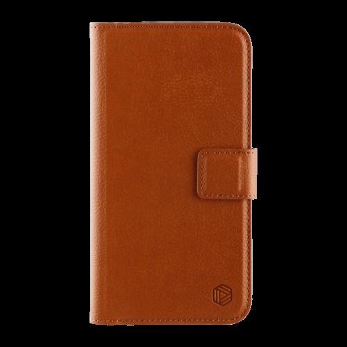 Promiz Wallet Case - Brown, Apple iPhone XR