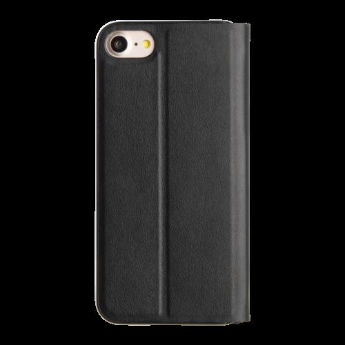 Promiz Book Case - Black, Apple iPhone 6/6S/7/8/SE (2020)