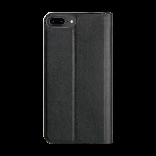 Promiz Book Case - Black, Apple iPhone 6/6S/7/8 Plus