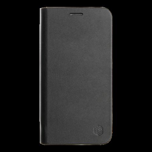 Promiz Book Case - Black, Apple iPhone XR