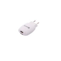 Wall Charger - White, Dual USB 2.4A