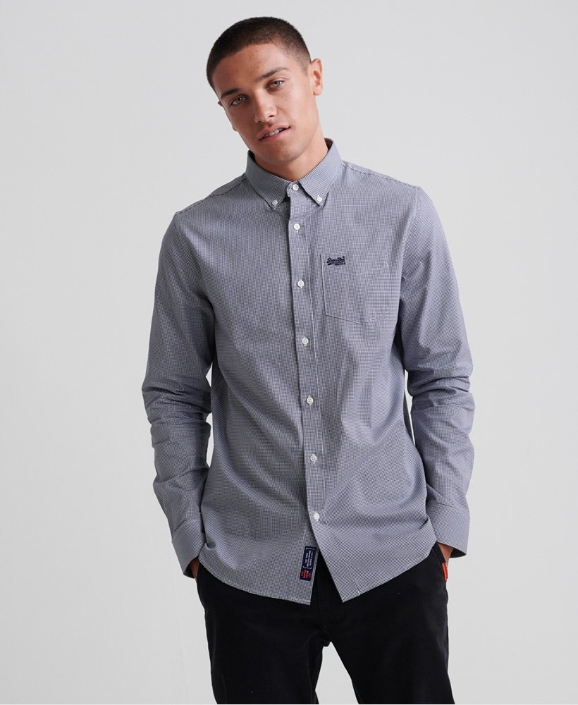 superdry Classic London ls shirt m4010018a 5912