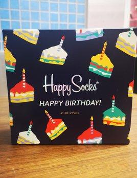 happy socks happy birthday 2 pack gift box