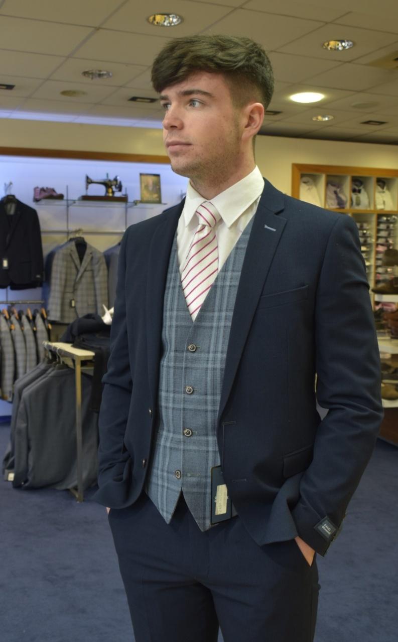 daniel grahame Dg31503,  dean, 3 Piece suit.