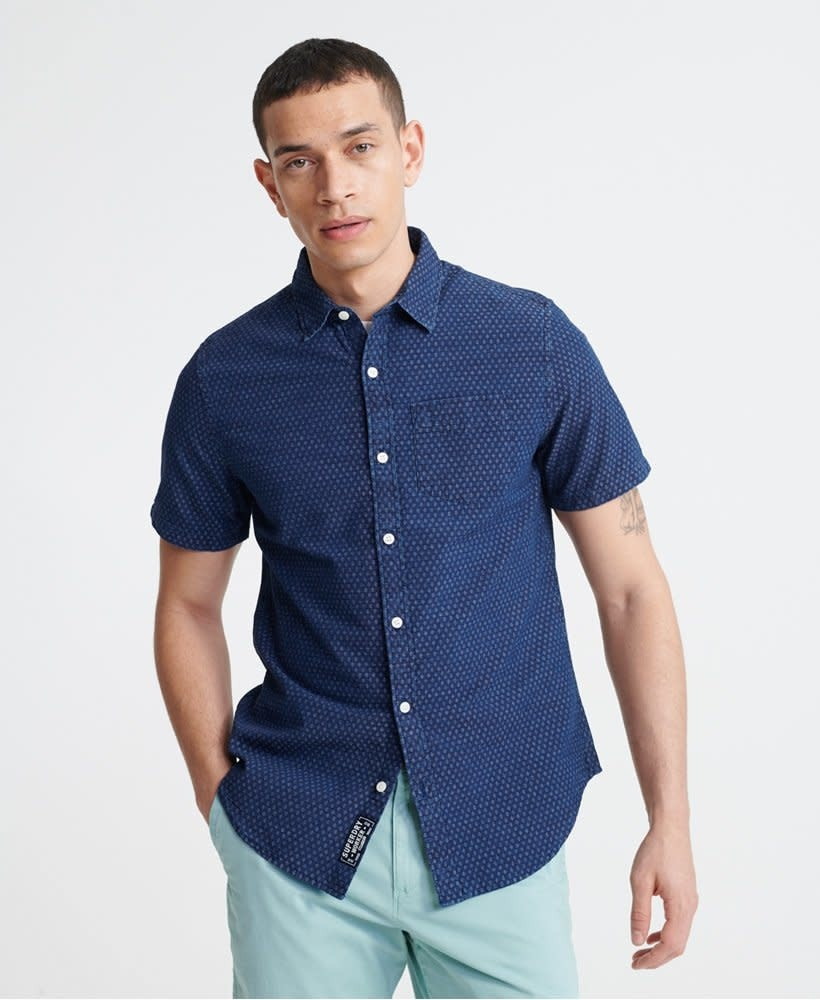 superdry Loom short sleeve shirt,