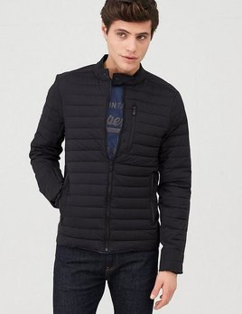 superdry Commuter hybrid biker jacket