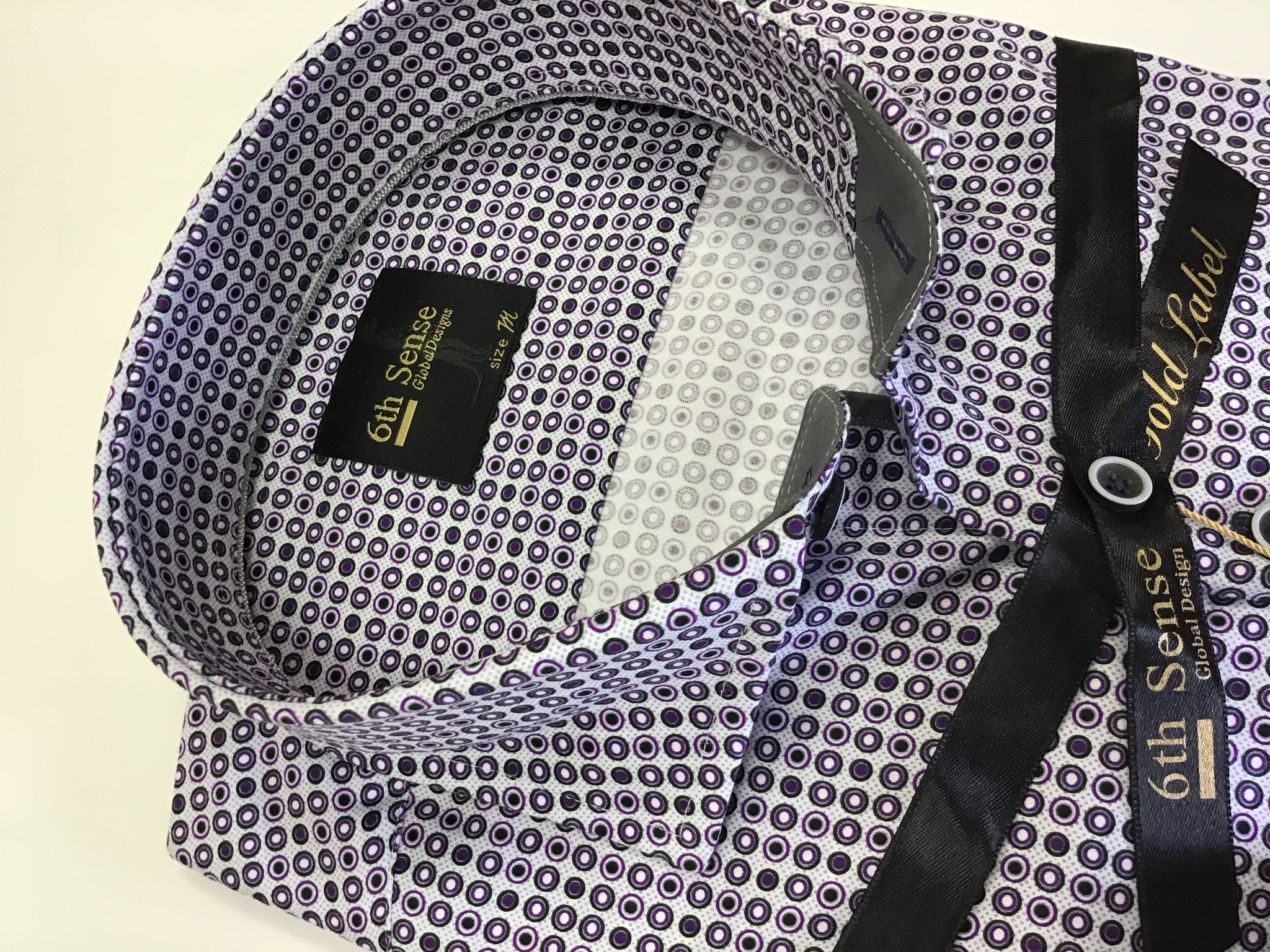 6th sense Circle print shirt