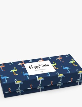 happy socks happy socks 4 pack gift box flamingo